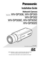 Panasonic WV-SP302 Network Camera Windows Vista 64-BIT