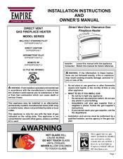 Empire Comfort Systems Dvp42dp71p 3 Manuals