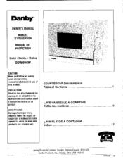 danby ddw496w manuals rh manualslib com Danby Portable Dishwasher Owner Manual Danby Portable Dishwasher Manual