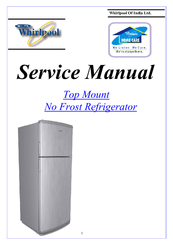 Whirlpool gold series refrigerator user guide and.