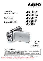 sanyo xacti vpc gh2 manuals rh manualslib com Kindle User Guide iPad User Guide