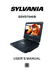 sylvania sdvd9019 manuals rh manualslib com sylvania dvd player manual sylvania portable dvd player sdvd9805 manual