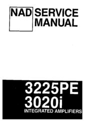 nad 3225pe service manual pdf download rh manualslib com nad 3140 owners manual nad 3140 service manual pdf