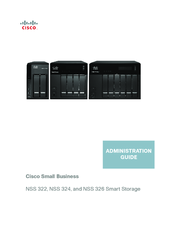Cisco Smart Storage NSS322 Administration Manual