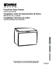 Kenmore Elite Frost-Free Chest Freezer Use & Care Manual