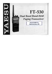 yaesu ft 530 user manual pdf download rh manualslib com