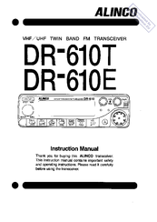 Alinco dr-610 service manual download, schematics, eeprom, repair.