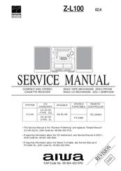 aiwa cx zl100 manuals rh manualslib com Aiwa Speakers Aiwa Logo