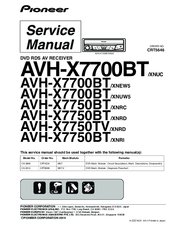 pioneer avh x7700bt xnuc service manual pdf download rh manualslib com
