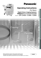 Panasonic WORKiO DP-C406 PCL Printer Driver
