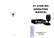 Yaesu FT-270R Operating Manual