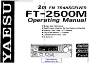 Yaesu FT-2500M Operating Manual