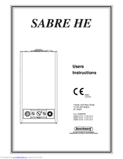 benchmark sabre 35 he manuals rh manualslib com Commercial Boiler Wiring Basic Boiler Wiring