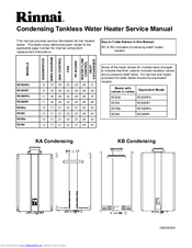 rinnai gas heater instructions