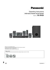 panasonic dvd operating instructions