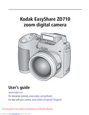 kodak zd710 easyshare digital camera manuals Kodak EasyShare Digital Camera Manual Kodak EasyShare Digital Camera Manual