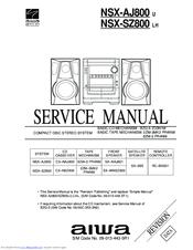 aiwa cx naj800 manuals rh manualslib com