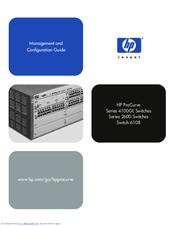 Hp Procurve Switch 2626 Manuals Manualslib