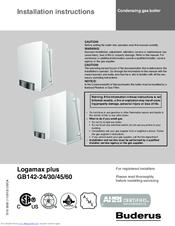 buderus logamax plus gb142 45 manuals rh manualslib com buderus logamax u122 manual buderus logamax u122 manual