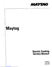 Maytag CWE402 Service Manual