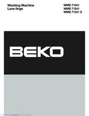 beko wmb 71241 s manuals rh manualslib com Beko FC Barcelona Beko Logo