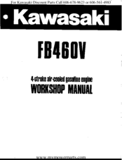 KAWASAKI FB460V WORKSHOP MANUAL Pdf Download | ManualsLibManualsLib