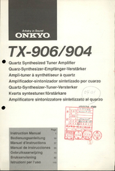 onkyo tx 906 manuals rh manualslib com onkyo tx 906 specs onkyo tx-906 manual pdf