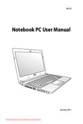 asus u30sd manuals rh manualslib com asus notebook pc user guide asus eee pc 1018p user manual