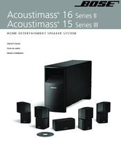 bose acoustimass 15 series iii manuals rh manualslib com bose acoustimass 15 series 1 manual bose acoustimass 15 series ii specs