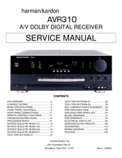 Harman kardon avr 347/230 manuals.
