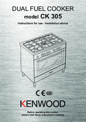 Kenwood CK 305 Instructions For Use Manual