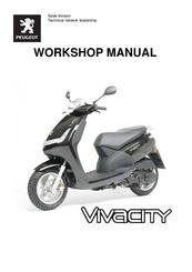 Peugeot vivacity instruktionsbok