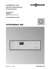 viessmann инструкция vitotronic