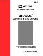 maytag mgd6400tb bravos gas dryer manuals rh manualslib com maytag performa gas dryer manual maytag gas dryer troubleshooting manual
