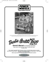 Power wheels barbie cruisin'tunes jeep 4x4 manuals.
