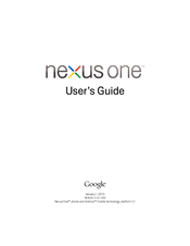 htc nexus one manuals rh manualslib com Quick Reference Guide Example User Guide