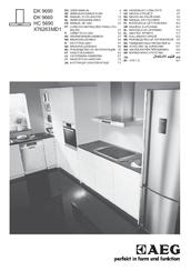Kendte Aeg DK 9690 Manuals ZF-95