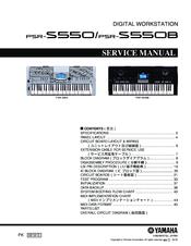 yamaha psr s550 service manual pdf download rh manualslib com user manual yamaha psr 550 manual teclado yamaha psr 550 portugues
