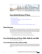 Cisco 7925G - Unified Wireless IP Phone VoIP Administration Manual