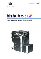 konica minolta bizhub c451 manuals rh manualslib com konica minolta c451 manual konica minolta bizhub c451 service manual pdf