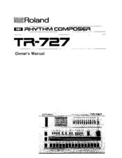 Roland tm 727 manuals roland tm 727 owners manual publicscrutiny Gallery