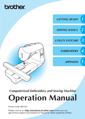 Brother NV1250D Operation Manual
