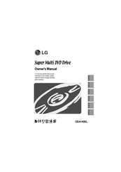 LG GSA-H20L Owner's Manual