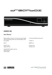 Dreambox DM7080 HD Manuals