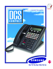 Samsung DCS Compact User Manual
