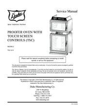 duke tsc 6 18 manuals rh manualslib com 240V Oven Wiring Diagram 240V Oven Wiring Diagram