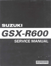 Suzuki GSX-R600 Service Manual