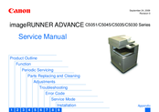 Canon IMAGERUNNER ADVANCE C5045 Service Manual