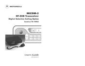 Motorola Micom-2 User Manual