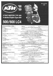 ktm 600 lc4 manuals rh manualslib com ktm lc4 2002 manual ktm lc4 manual download